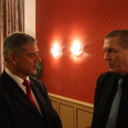 Klaus-Peter Dehde und Dr. Rabani Alekuzei