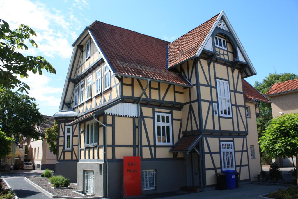 SPD Haus Parkplatz