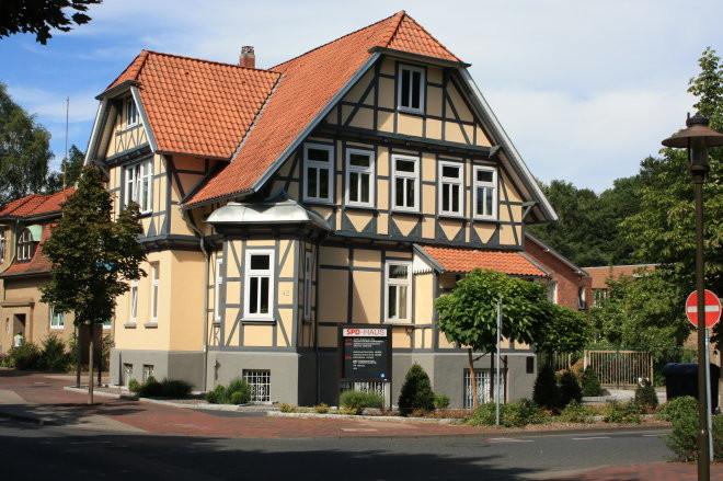 SPD Haus von Straße